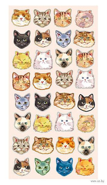 """Набор наклеек """"Cat's Head"""" — фото, картинка"""
