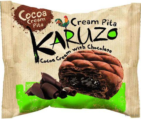 """Пирожное """"Karuzo. Cocoa Сream with Chocolate"""" (62 г) — фото, картинка"""