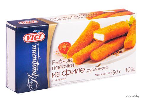 """Палочки рыбные """"Vici. Из рубленного филе"""" (250 г) — фото, картинка"""