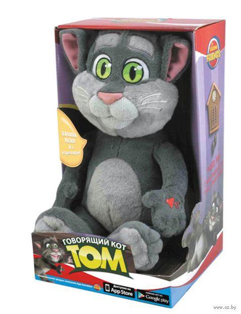 """Мягкая музыкальная игрушка """"Кот Том"""" (32,5 см) — фото, картинка"""