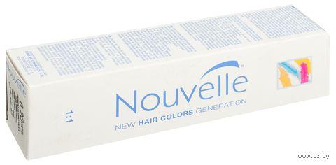 """Крем-краска для волос """"Nouvelle"""" (тон: 6.20, темно-фиолетовый русый)"""