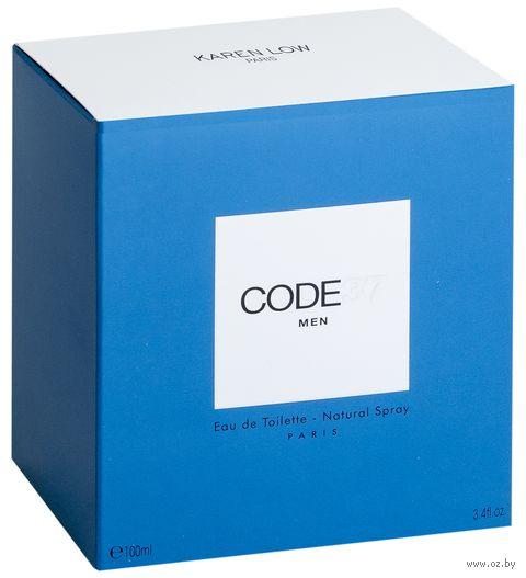 """Туалетная вода для мужчин """"Code 37"""" (100 мл)"""