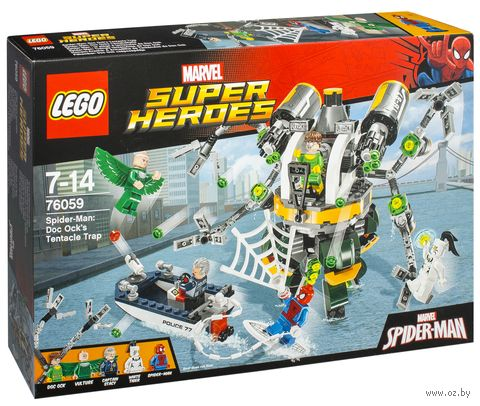 "LEGO Super Heroes ""Человек-паук: в ловушке Доктора Осьминога"""