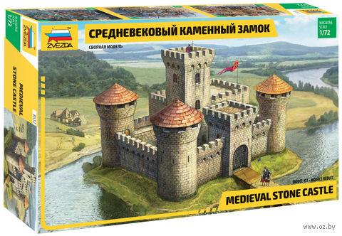 Средневековый каменный замок (масштаб: 1/72) — фото, картинка