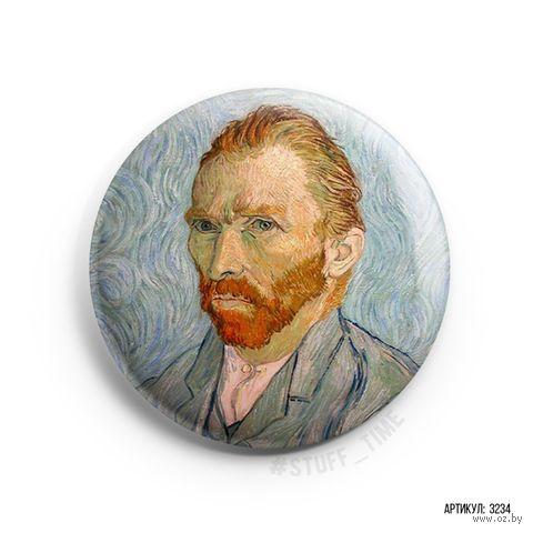 "Значок маленький ""Ван Гог"" (арт. 234) — фото, картинка"