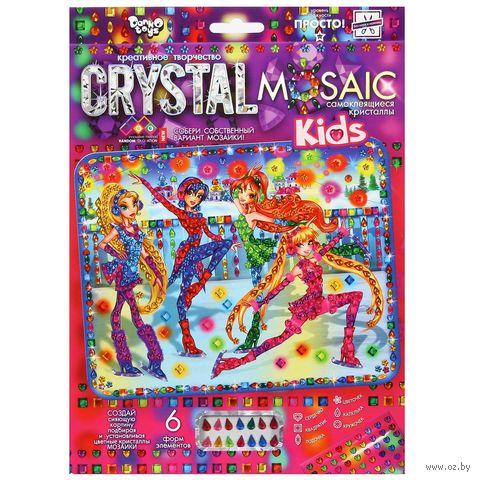 """Аппликация из страз """"Crystal Mosaic. Девочки-феи"""" — фото, картинка"""