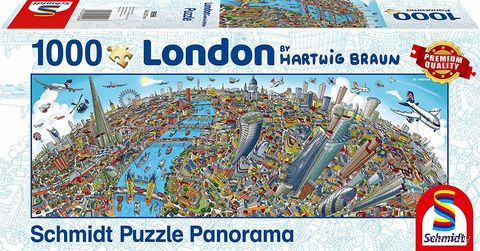 "Пазл ""Панорама города. Лондон"" (1000 элементов) — фото, картинка"