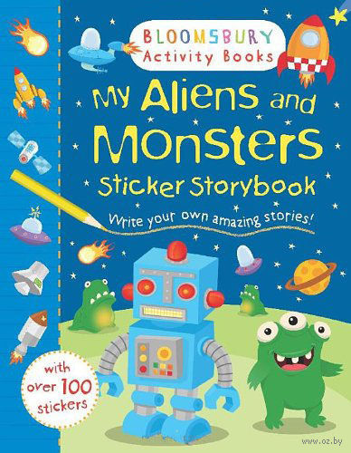 My Aliens and Monsters. Sticker Storybook