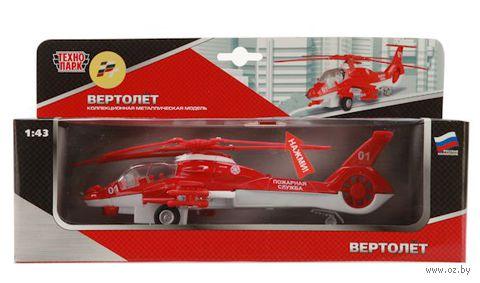 """Модель вертолета """"Пожарная служба"""" (масштаб: 1/43)"""