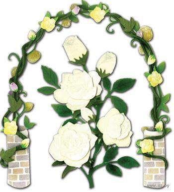 """Стикеры для скрапбукинга """"Джоли бутик. Розы в саду"""" (арт. EKS-SPJB733)"""