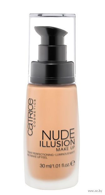 """Тональный крем для лица """"Nude Illusion"""" (тон: 020; 30 мл)"""