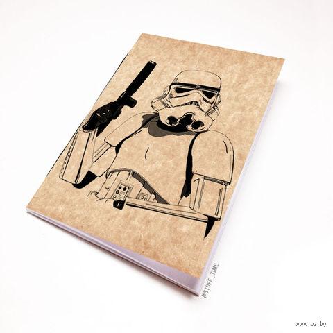 """Блокнот крафт """"Звездные войны"""" (А7; арт. 241) — фото, картинка"""