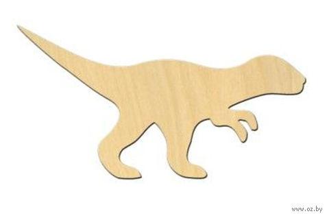 """Заготовка деревянная """"Динозавр №1"""" (120х64 мм)"""