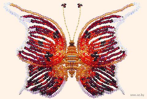 "Фигурка из бисера ""Бабочка нимфа"""