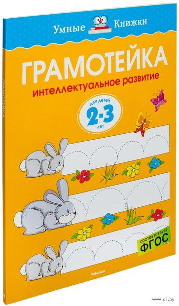 Грамотейка. Интеллектуальное развитие детей 2-3 лет. Ольга Земцова