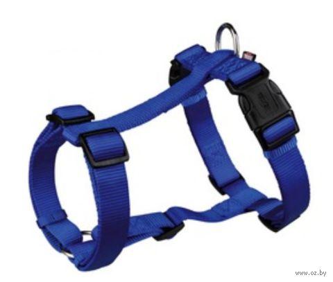"""Шлея для собак """"Premium H-harness"""" (размер M-L, 50-75 см, синий, арт. 20342)"""