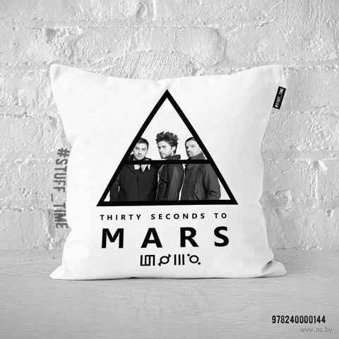 """Подушка """"30 seconds to Mars"""" (арт. 144)"""