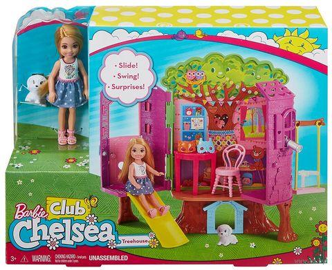 """Игровой набор """"Барби. Домик-дерево Челси"""" — фото, картинка"""