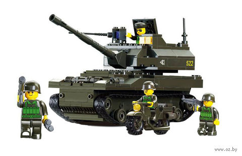 "Конструктор ""Танк Леопард"" (258 деталей) — фото, картинка"