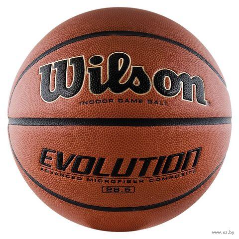 "Мяч баскетбольный Wilson ""Evolution"" №6 — фото, картинка"