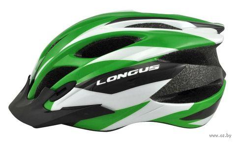 """Шлем велосипедный """"Erturia"""" (зеленый; р. L-XL) — фото, картинка"""