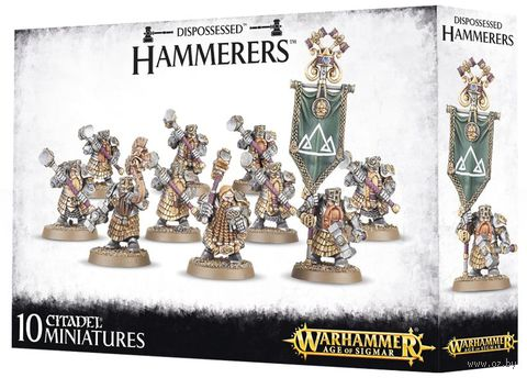 Warhammer Age of Sigmar. Dispossessed. Hammerers/Longbeards (84-07) — фото, картинка
