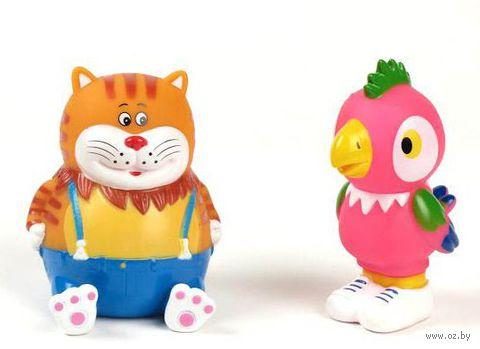 """Набор игрушек для купания """"Возвращение блудного попугая. Кеша и Кот"""" (2 шт)"""