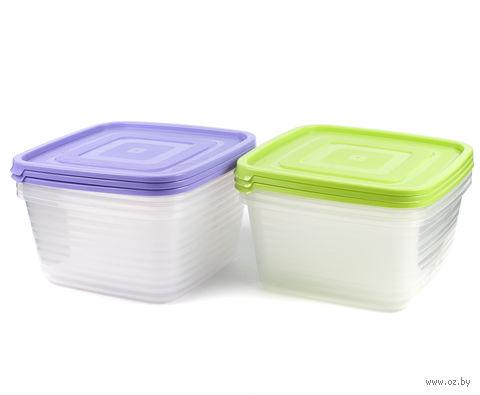"""Набор контейнеров для продуктов """"Унико"""" (3 шт.; 1,4 л)"""