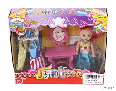 Кукла с аксессуарами (14 см; арт. V2020-4)