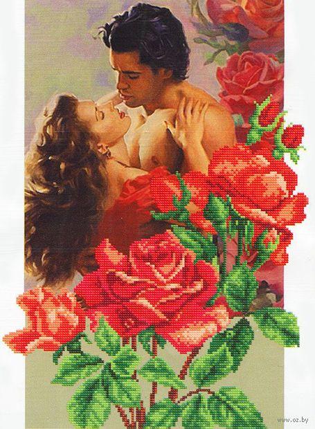 """Вышивка бисером """"Розы любви"""""""