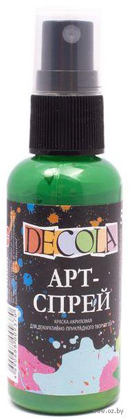 """Краска-спрей """"Decola"""" (зеленая средняя; 50 мл) — фото, картинка"""