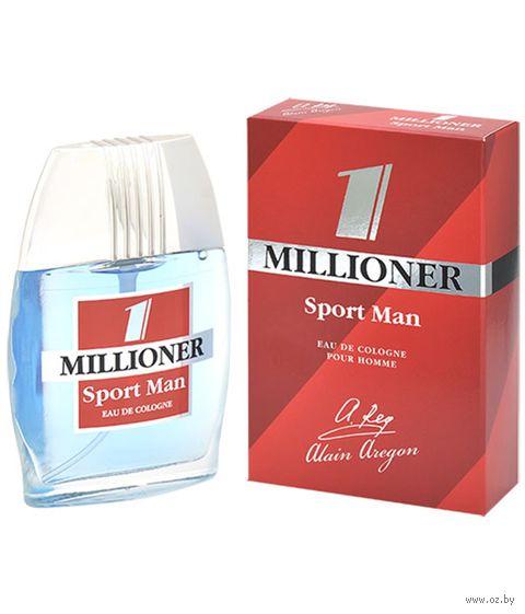 "Одеколон ""1 Millioner. Sport Man"" (60 мл) — фото, картинка"