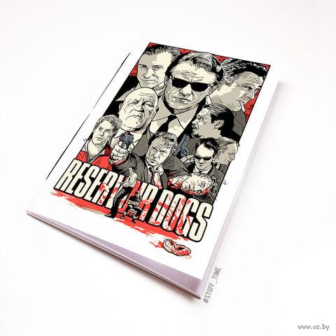 "Блокнот белый ""Reservoir Dogs"" А5 (132)"