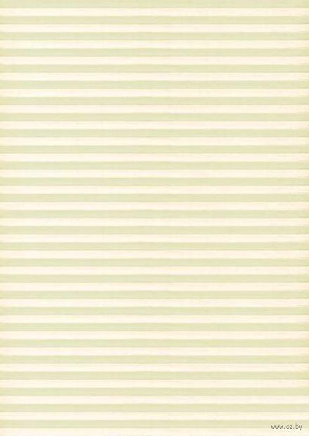 """Бумага для декупажа рисовая """"Полосочки"""" (21х30 см; арт. AM400360) — фото, картинка"""