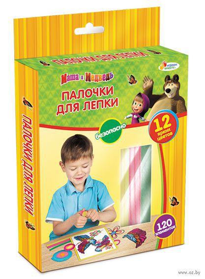 """Восковые палочки для лепки """"Маша и Медведь. Жираф"""""""