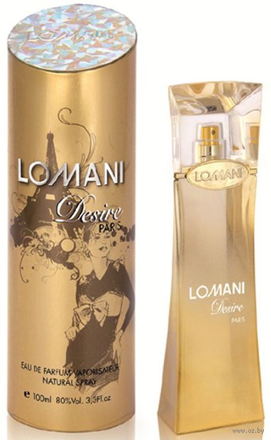 "Парфюмерная вода для женщин ""Lomani Desire"" (100 мл)"