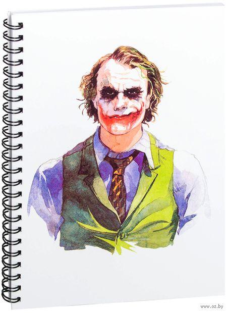 """Блокнот в клетку """"Джокер"""" (A5; арт. 044) — фото, картинка"""