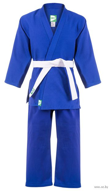 Кимоно для дзюдо MA-302 (р. 3/160; синее) — фото, картинка