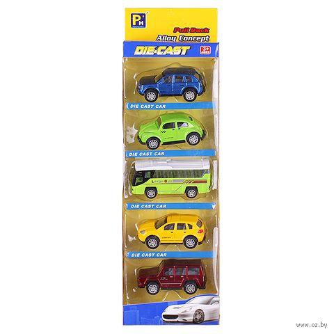 "Набор машинок инерционных ""Mini Car"" (арт. DV-T-771) — фото, картинка"