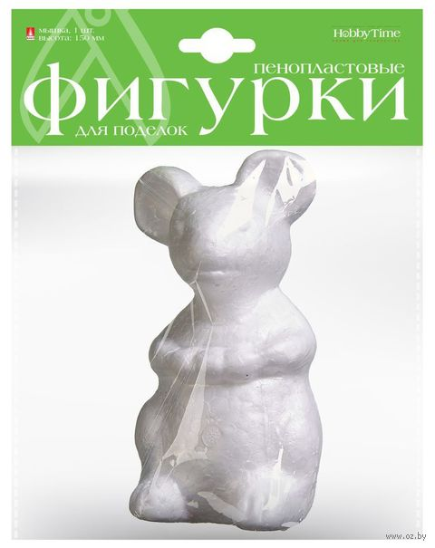 "Заготовка из пенопласта ""Мышка"" (104х150 мм) — фото, картинка"