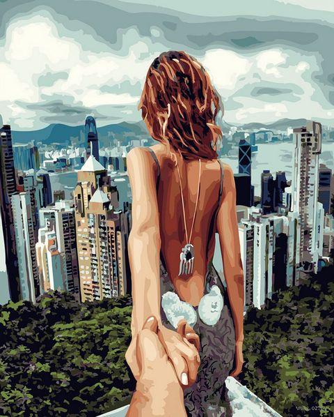 """Картина по номерам """"Следуй за мной. Гонконг"""" (400х500 мм) — фото, картинка"""