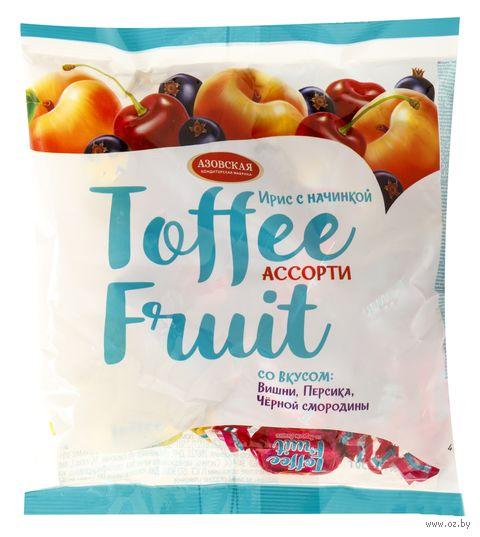 "Ирис с начинкой ""Toffee Fruit. Ассорти"" (250 г) — фото, картинка"