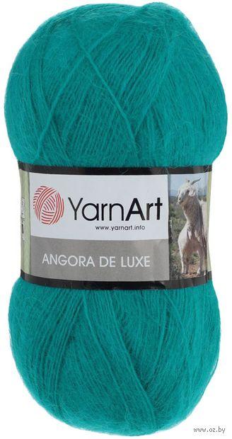"""Пряжа """"YarnArt. Angora de Luxe №11448"""" (100 г; 520 м; изумрудный) — фото, картинка"""