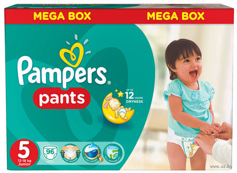 """Одноразовые трусики """"Pampers Pants Junior"""" (12-18 кг, 96 шт)"""
