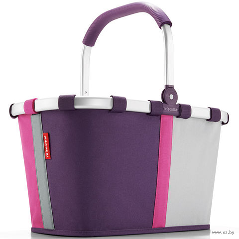 "Корзина ""Carrybag"" (patchwork magenta)"