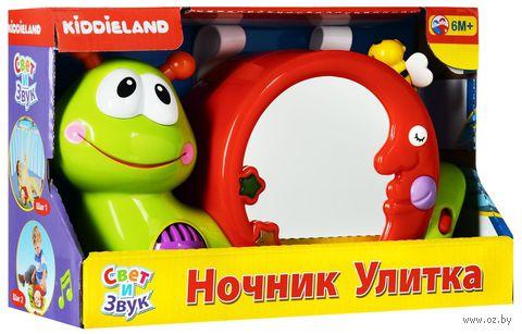 """Ночник-проектор звуковой """"Улитка"""" — фото, картинка"""