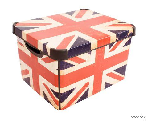 """Коробка для хранения """"British Flag"""" (39,5х29,5х25 см) — фото, картинка"""