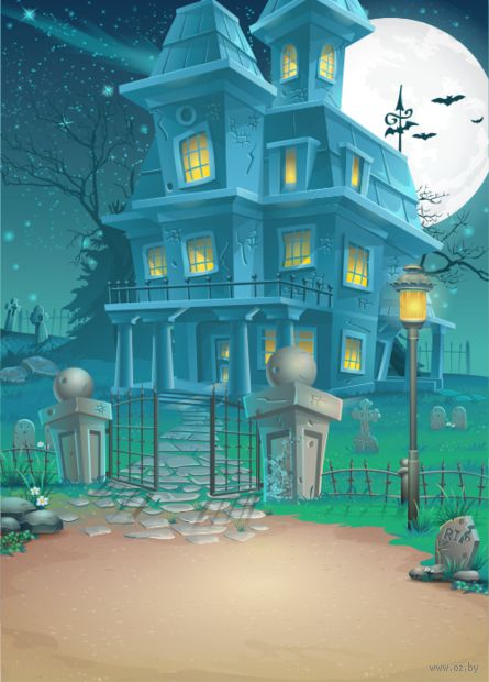 "Открытка ""Ночь на Хэллоуин"" — фото, картинка"