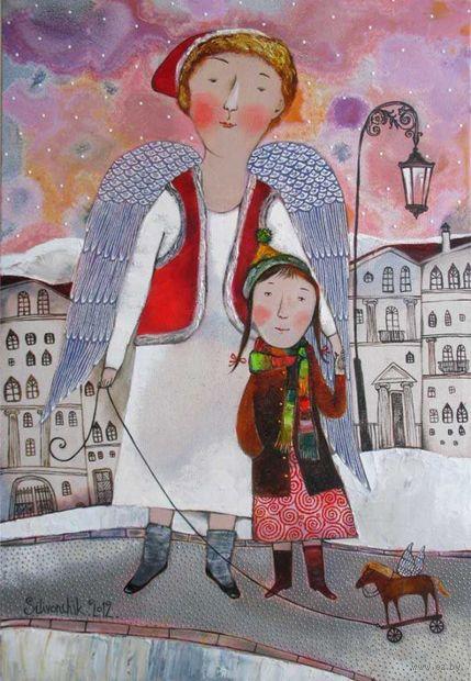 """Магнит на холодильник """"Деревянная лошадка"""" (арт. 11.12) — фото, картинка"""