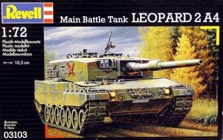 """Танк """"Leopard 2 A4"""" (масштаб: 1/72) — фото, картинка"""